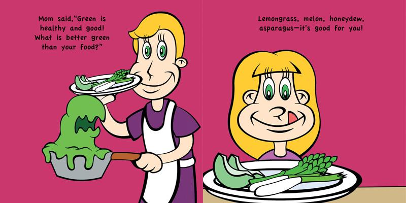 Dog Children S Book Book Smelling Food